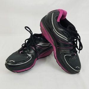 Skechers Shape-ups Black & Purple Size 7